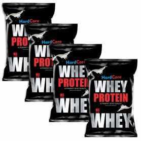 Promoción x 4 - Proteína Hardcore Nutrition 1 kg
