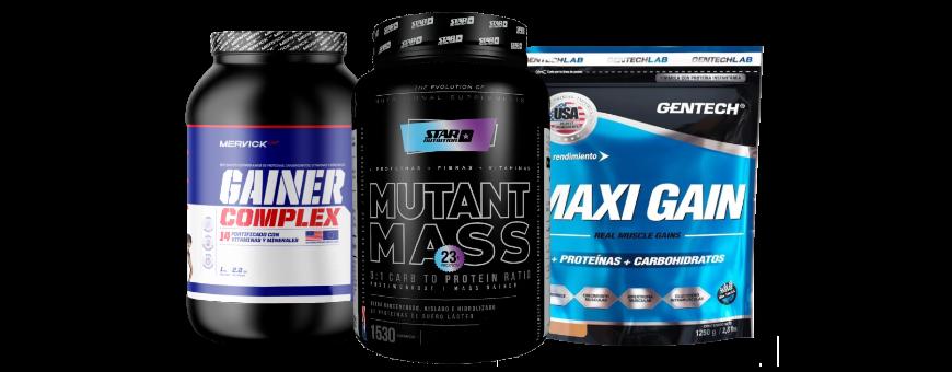Ganadores de Masa Muscular | Whey Gainer | Productos | DeMusculos.com