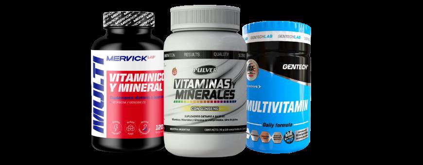 Vitaminas y Minerales | Suplementos Naturales | DeMusculos.com